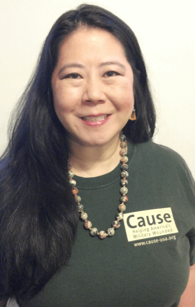 Claire in Cause shirt