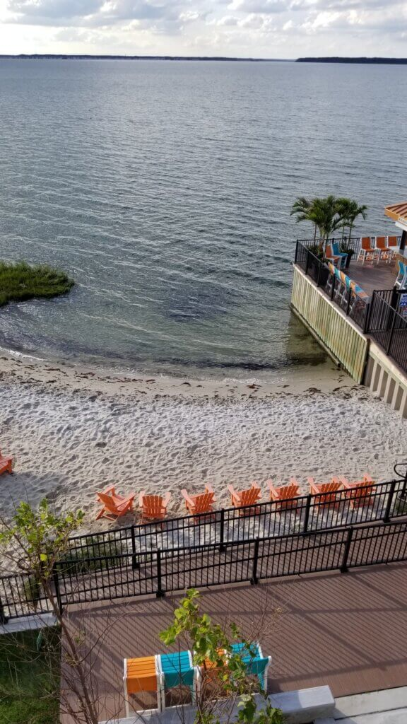 Ocean City Aloft Bay and Beach Area