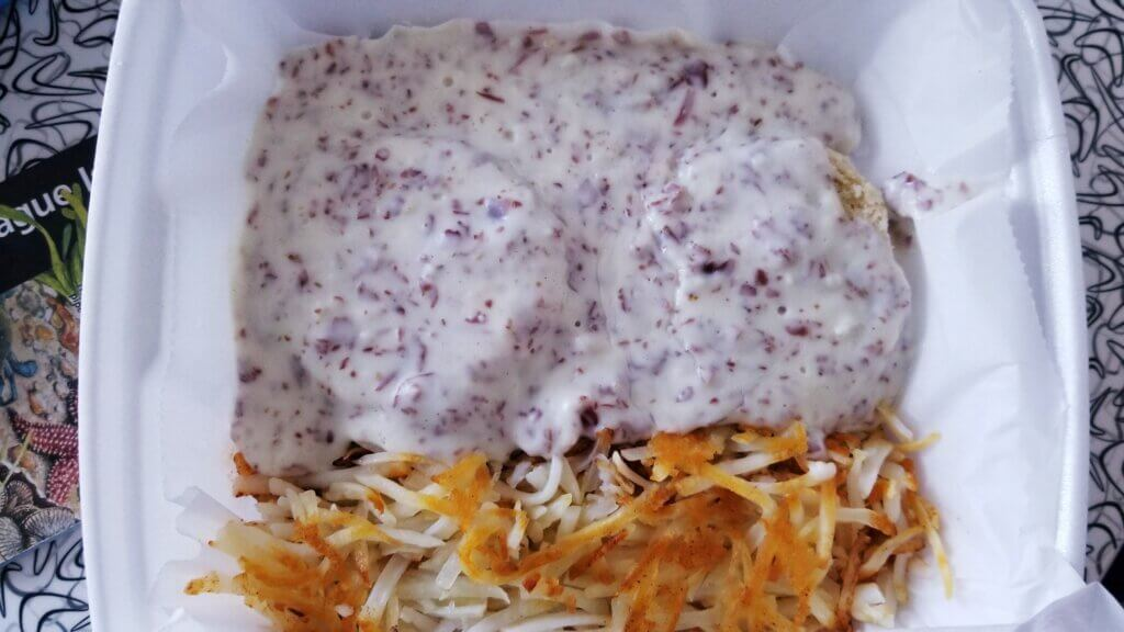 Creamed Chipped Beef from the General's Kitchen