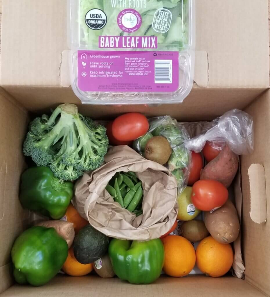 Hungry Harvest Review - Full Size Organic Box