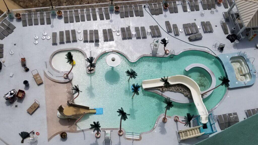 Hilton Ocean City Kid's Pool and Slide