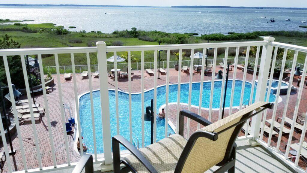 Hampton Inn Bayfront Suite Balcony